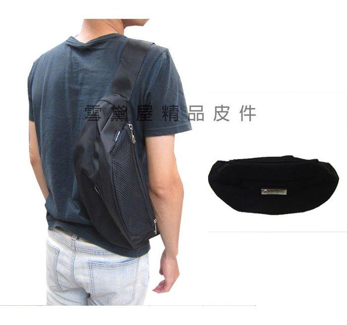 ~雪黛屋~CONFIOENCE 臀包大容量台灣製造品質保證二用隨身腰包可肩斜側背1680D防水尼龍布材質ACB2151