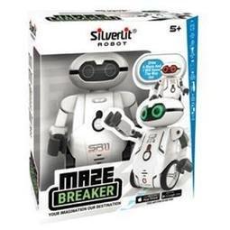 SILVERLIT ROBOT 方程式迷宮機器人 原價699元 (白色)
