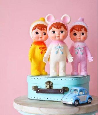 日本雜貨 * 超級可愛* 日本昭和復古娃娃 裝飾擺飾 ( 新貨 現貨 )