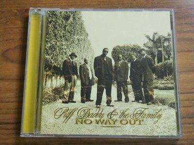 ◎MWM◎【二手CD】Puff Daddy & The Family- No Way Out 少數細紋
