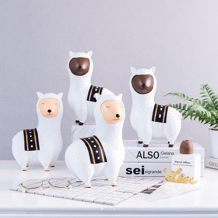 〖洋碼頭〗現代簡約綿羊擺件裝飾品創意家居客廳房間臥室小擺設北歐個性擺飾 fjs727