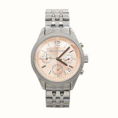 Michael Kors MK6130玫瑰金三眼女錶4000含運 Rose gold tone watch ~附購證正本*
