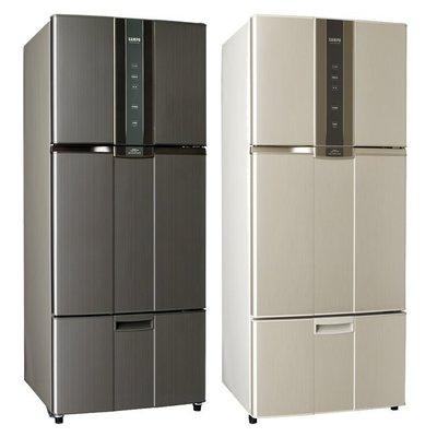 【】寶三門變頻冰箱580公升省電SR-A58DV另售SR-B58DV(26400)退稅補助2000元