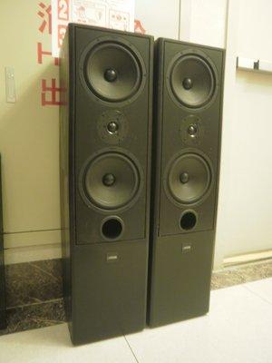 (老高音箱)德國 CANTON FONUM 601 DC 雙八吋三音路落地喇叭一對 ( ERGO-92 DC 參考)