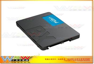 【WSW SSD】美光 Micron BX500 240GB 自取830元 最高讀取540M 全新盒裝公司貨 台中市 台中市