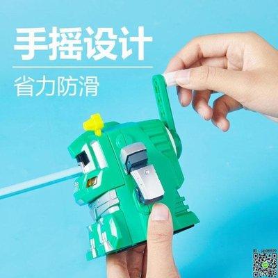 卷筆刀 卷筆刀手搖鉛筆刀削筆器機器人削筆刀手動男孩削鉛筆器