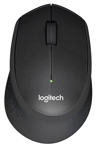 【鳥鵬電腦】Logitech 羅技 M331 SILENT PLUS 舒適靜音滑鼠 黑 QUIET MARK 無線 右手