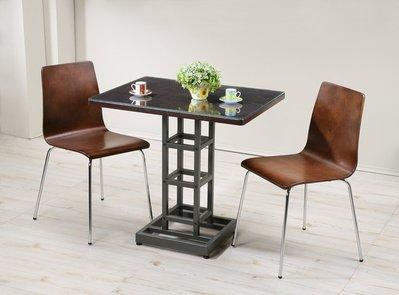 環保低甲醛優質餐桌椅組(附玻璃) 餐桌...