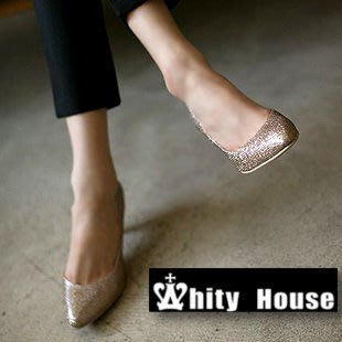 =WHITY=韓國MZ品牌 韓國製 舒適軟皮時尚好穿耐看裸亮系低調晚宴高跟鞋S3EB424