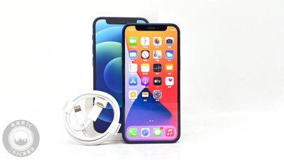 【台南橙市3C】APPLE IPHONE 12 MINI 64G 64GB 5.4吋 藍 二手手機#61236
