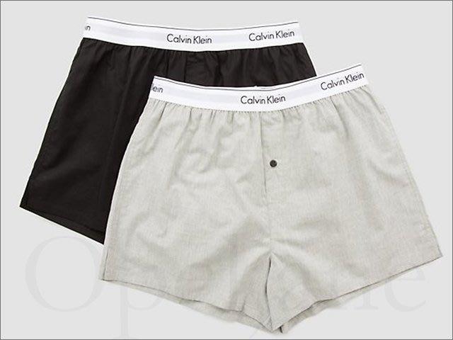 Calvin Klein CK 卡文克萊黑灰+格紋寬鬆四角褲L號兩件一組共2組+女短T粉M號+送CK男內衣一件