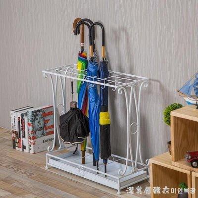雨傘架家用創意酒店大堂歐式鐵藝落地雨傘收納架子門廳辦公雨傘桶 NMS
