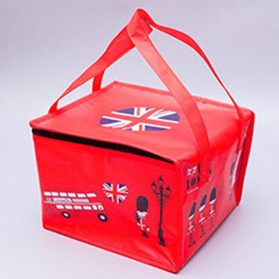 {采庭生活館}英倫風情6吋保溫袋 手提保冷袋 冷藏蛋糕 餐點便當袋 野餐收納袋 新北市