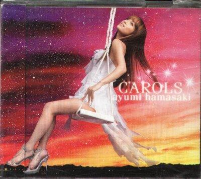 K - Ayumi Hamasaki 浜崎あゆみ - CAROLS - 日版 CD+DVD OBI 濱崎步