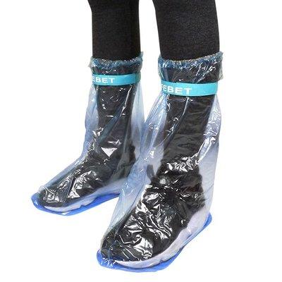 【贈品禮品】B3031 長筒防雨鞋套-L-大/有底鞋套/加厚/防滑/防水雨鞋套/雨靴/雨衣/雨傘/雨具/加長型/高筒