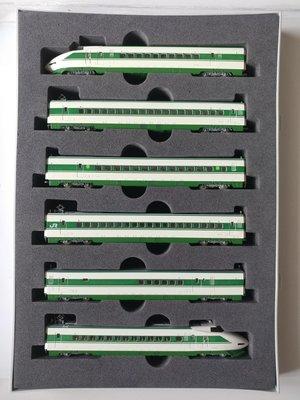 Tomix NGuague #92625 JR200-2000 系 東北·上越新幹線 6車廂基本套裝,全車廂加裝黃燈! 二手品90%新!