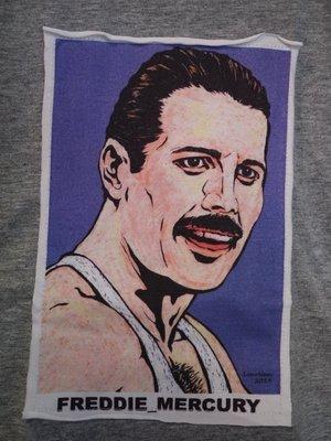 【小間搖滾】Queen 皇后合唱團 Freddie Mercury ☆進口經典人物ㄒ恤