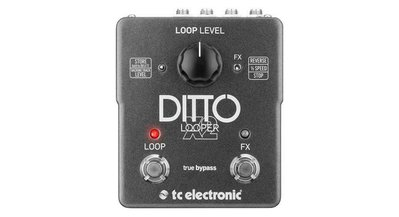 【幫你買】TC Electronic Ditto X2雙開關Looper吉他踏板 全新