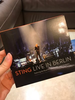 史汀 柏林音樂會 STING / LIVE IN BERLIN CD+DVD 進口盤 CD無刮 TT