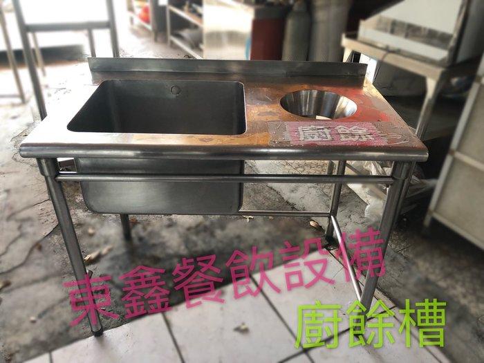 中古 二手 訂作式廚餘槽 304純白鐵