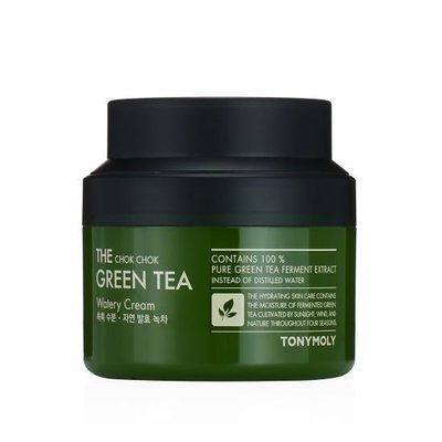 100ml【韓Lin代購】韓國TONYMOLY-綠茶保面霜THE CHOK CHOK GREEN TEA WATERY
