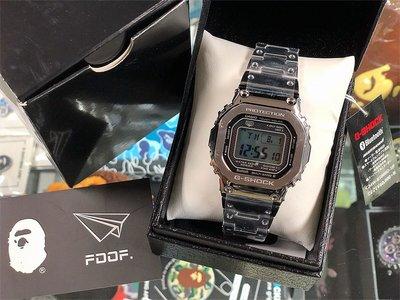 [FDOF] 預購 G-SHOCK GMW-B5000D-1 藍牙 不鏽鋼 銀色 日本公司貨