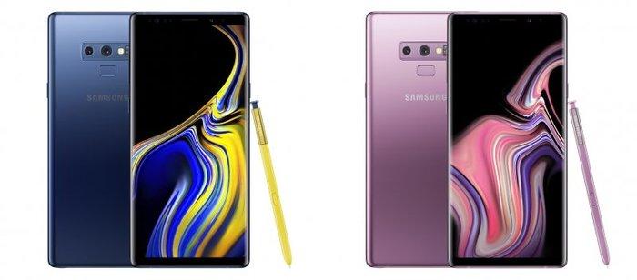 圓點行動通訊SAMSUNG Galaxy NOTE9 黑色/金色/紫色/藍色另備三星.Sony.htc手機配件全面8折
