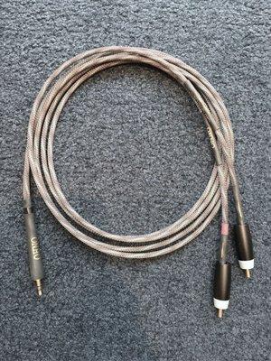 ?博韻音響?美國 Audience cable. OHNO 3.5mm轉RCA訊號線 1.5米