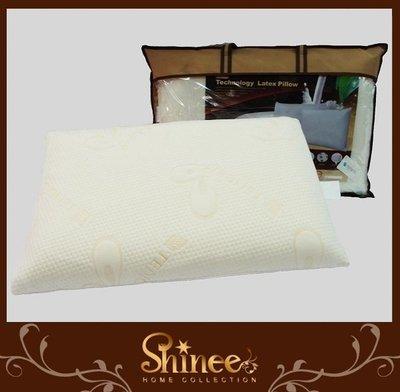 原價2980元↘SHINEE 全程台灣製造《天絲表布乳膠獨立筒枕》-一入