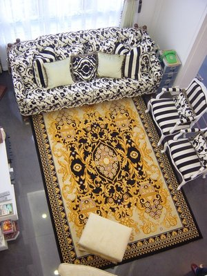 【山德力】WWK18匹茲堡地毯-豹璽 240x340cm 客廳地毯 臥室地毯 床邊毯
