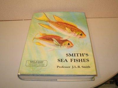 《字遊一隅》*經典  Smith's Sea Fishes 史密斯氏海魚圖說辭典 1977擴大修訂本