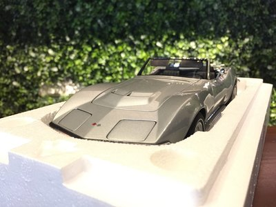 1/18 AUTOart Chevrolet Corvette 1969 Silver 71162【MGM】