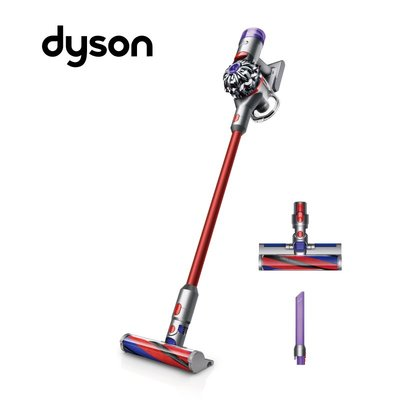【0卡分期】Dyson V8 slim fluffy+ 無線手持吸塵器-紅色 台灣公司貨