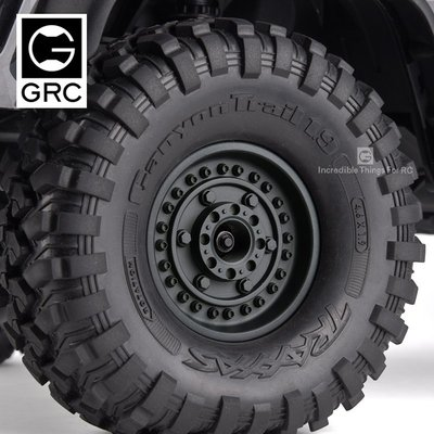 1.9吋 超高仿1.9吋 超高仿真 犀牛夾胎 攀爬車 攀岩車 復古 夾式 夾片式輪框 輪框 鋁圈 TRX-4 SCX10