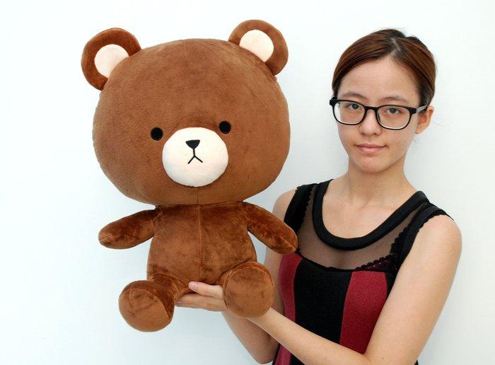 娃娃夢幻樂園~可愛湯姆熊玩偶~TOM熊大娃娃~高45公分~泰迪熊~黑熊~情人生日禮物~全省宅配