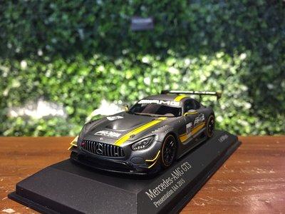 1/43 Minichamps Mercedes-AMG GT3 Presentation 437163096【MGM】