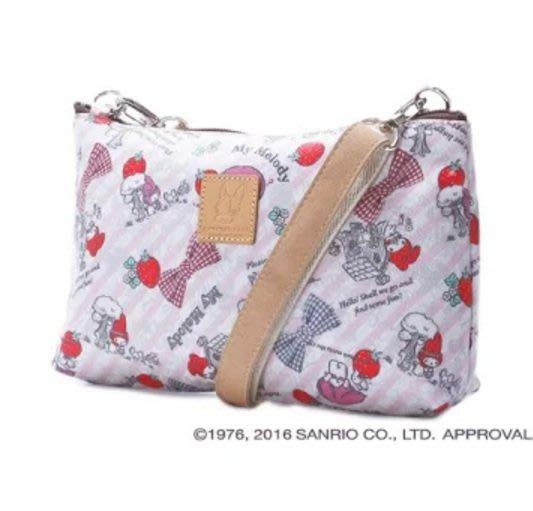 41+現貨 Y拍最低價競標 日本製 三麗鷗 CRYSTAL BALL 聯名款 美樂蒂 側背包