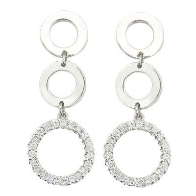 【JHT金宏總珠寶/GIA鑽石專賣】0.40ct天然鑽石耳環/材質:PT900(JB41-D10)