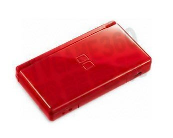 任天堂 Nintendo DSL NDSL 主機外殼 機身殼 (紅色)【台中恐龍電玩】