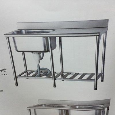 不鏽鋼水槽(大廚專用水槽、深水槽、洗台)