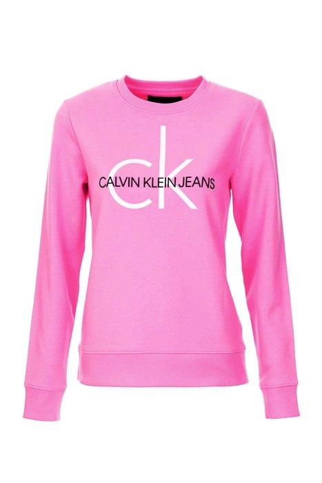 T☆【CK女生館】☆【Calvin Klein LOGO印圖長袖T恤/大學T】☆【CKG001H7】(S)10/28