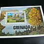 格瑞納達-1975年 童子軍-新票小全張1套-原膠上品