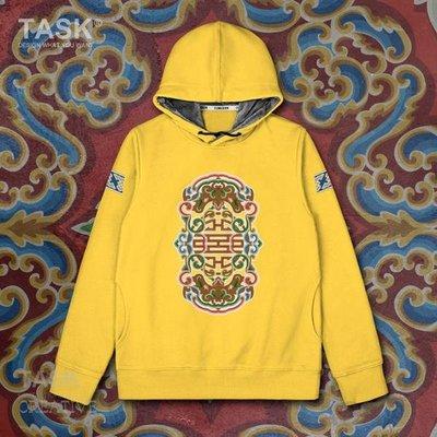 TASK 中國少數民族蒙古族Mongols連帽衛衣游牧衣服外套潮