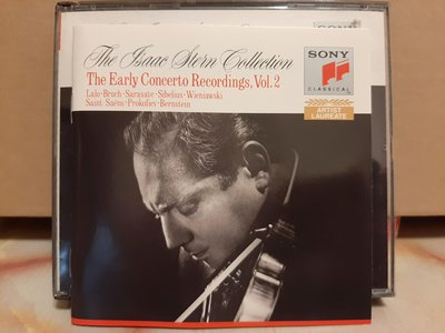 The Isaac Stern Collection,The Early Concerto Recordings,史坦早期協奏曲錄音,含拉羅,西貝流士等作曲家。