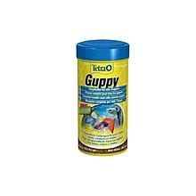 魚樂世界水族專賣店# 德國 Tetra Guppy 新孔雀魚薄片飼料 100ml