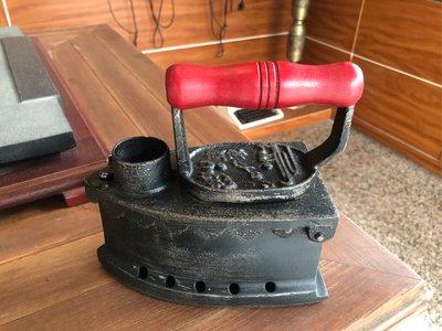 日本 古物 老鐵 炭火 熨斗