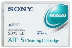 Sony SDX5-CL Cleaning Cartridge Tape 清潔盒式磁帶