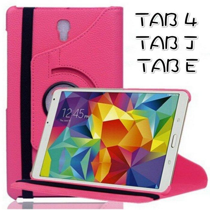 TAB4 旋轉皮套Samsung Tab J E T235 T285 T377 平版皮套 糖果色 自動休眠