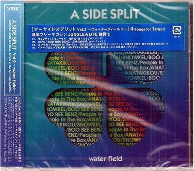 *單曲出清,$30起標《 A SIDE SPLIT VOL.2 // WATER FIELD 》日本原裝進口版