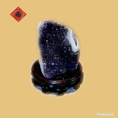 🏆【1688 精品】🏆巴西頂級紫晶鎮重418g辦公室、住宅擺飾,最佳擺飾風水石 【C30】
